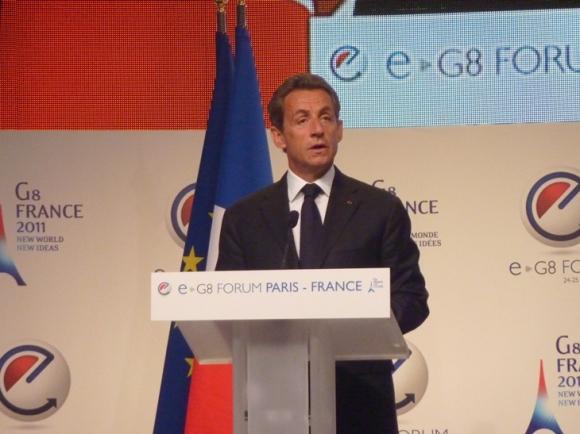 e-G8 Forum, 24 mai 2011, Nicolas Sarkozy
