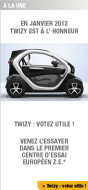 My Renault Newsletter Twizy