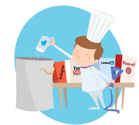 Média Aces : les médias sociaux dans votre assiette