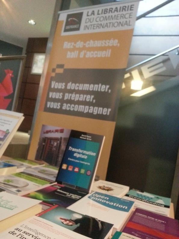 Transformation digitale : 5 leviers pour l'entreprise sélectionné par la librairie UBIFRANCE